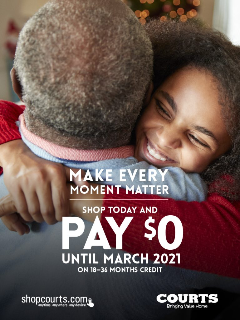 Make Every Moment Matter Credit Offer Poster